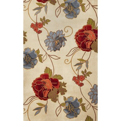 Las Cazuela Paradise Rug Rug Size: Rectangle 79 x 106