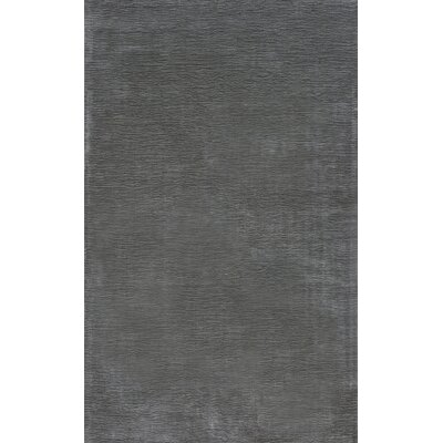 Glenshaw Steel Gray Area Rug Rug Size: 76 x 96