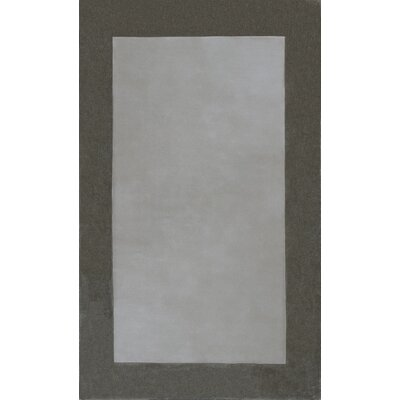 Glenshaw Ivory/Champagne Elements Area Rug Rug Size: 86 x 116