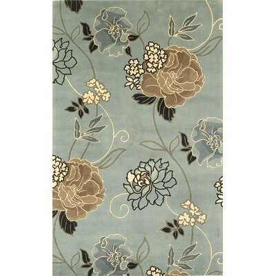 Las Cazuela Paradise Floral Novelty Rug Rug Size: Rectangle 5 x 8