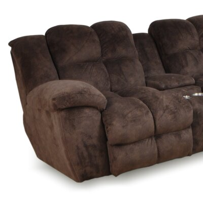 Caton Snuggler Sectional Upholstery Color: Charcoal