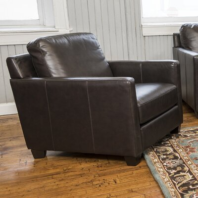 Fifth Street Baxter Leather Arm Chair