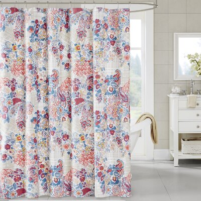 Corsica Cotton Shower Curtain