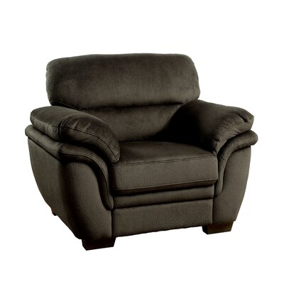 Dobson Armchair Upholstery: Dark Brown