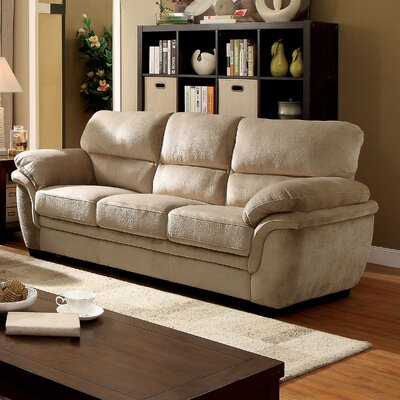 Dobson Transitional Sofa Upholstery: Light Brown