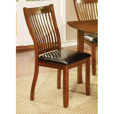 Mcalpine Side Chair Finish: Amber