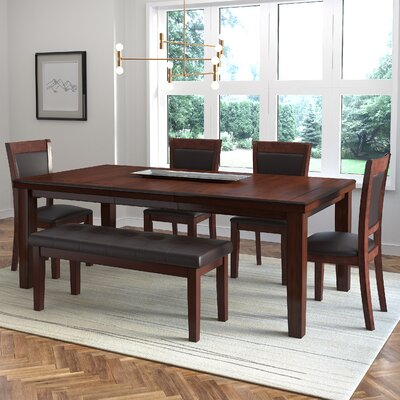 Edgecomb 6 Piece Dining Set