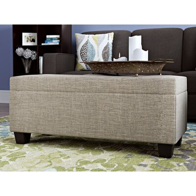 Hirsh 3 Piece Storage Ottoman Set Upholstery: Natural