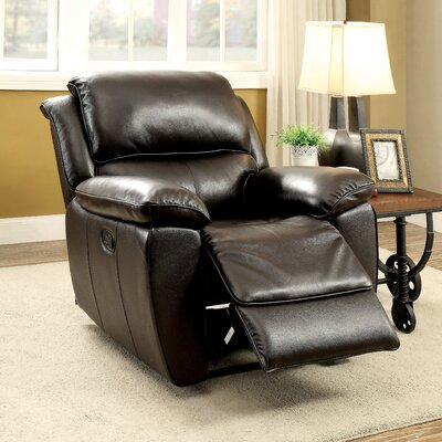 Erie Manual Recliner Type: Manual