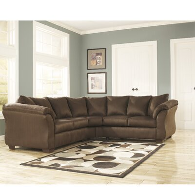 Chisolm Sectional Upholstery: Cafe