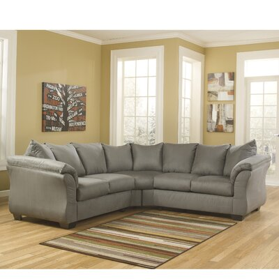 Chisolm Yards Sectional Upholstery: Cobblestone
