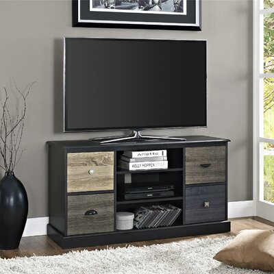 Snowy Mountain 47 TV Stand Color: Black
