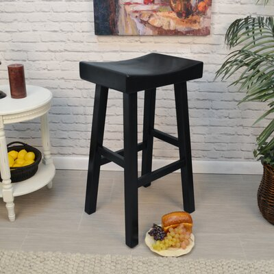 Cannaday 30 Bar Stool Finish: Antique Black