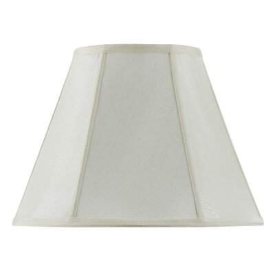 Piped 14 Fabric Empire Lamp Shade Finish: Eggshell