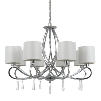 Carden 8-Light Shaded Chandelier