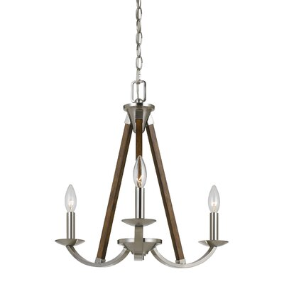 Cardone 3-Light Candle-Style Chandelier