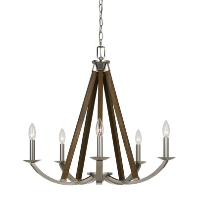 Cardone 5-Light Candle-Style Chandelier