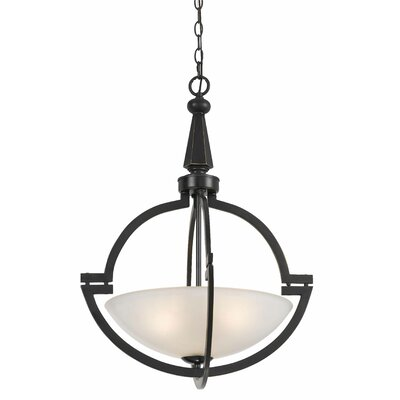 Cargile 3-Light Bowl Pendant