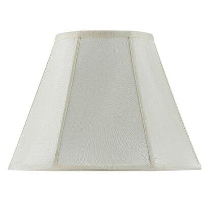 16 Fabric Empire Lamp Shade Finish: Eggshell