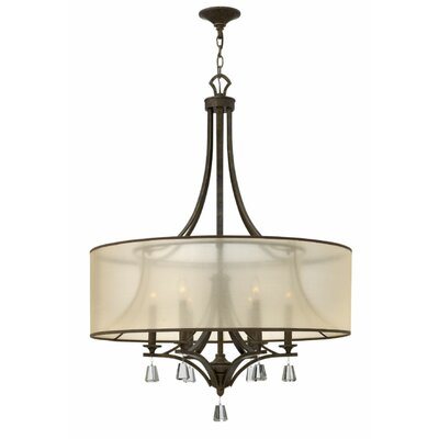 Carlock 6-Light Foyer Pendant Finish: French Bronze