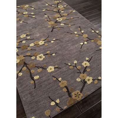 Anselmo Hand-Tufted Gray/Yellow Area Rug