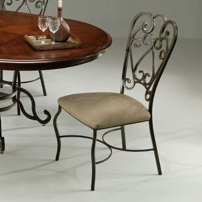 Cafferata Metal Leg Side Chair Finish: Autumn Rust