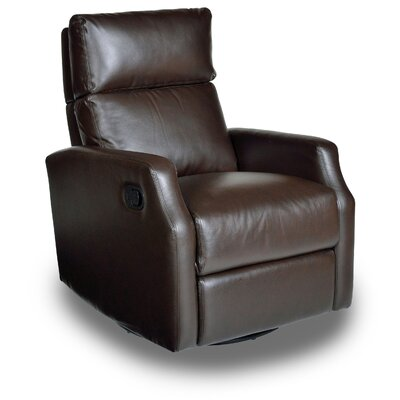 Chestnut Run Chestnut Manual Swivel Recliner Color: Bedford Mocha