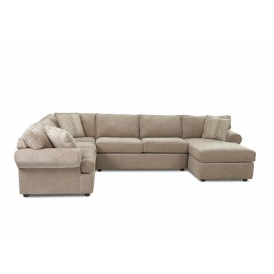 Cartee Right Hand Facing U-Shaped Sectional