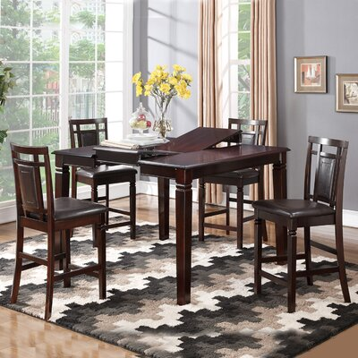 Claycomb Counter Height Extendable Dining Table