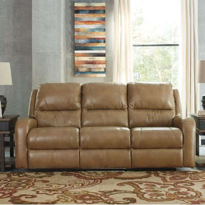 Clevenger Leather Reclining Sofa
