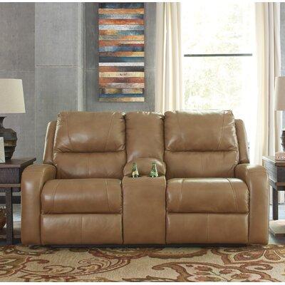 Caseyville Leather Loveseat