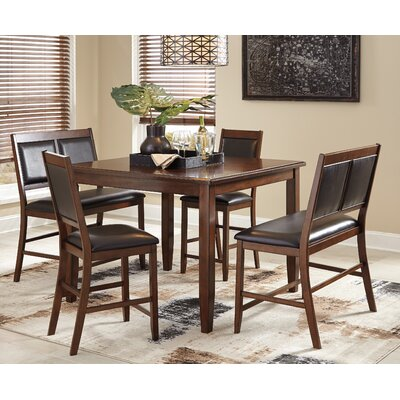Cashwell 5 Piece Counter Height Dining Set