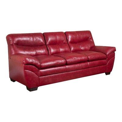 Simmons Upholstery Cates Sofa Upholstery: Cardinal