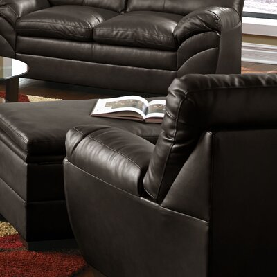 Cates Simmons Upholstery Sofa Seat Color: Espresso