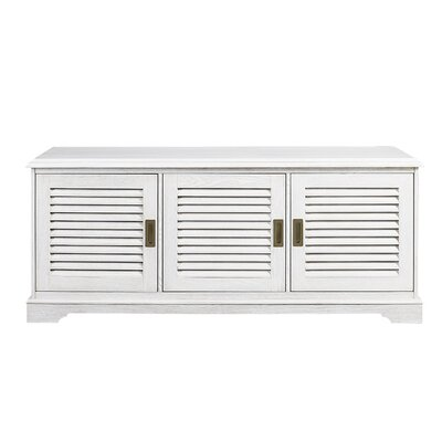 Bannock Louvered Door TV Stand