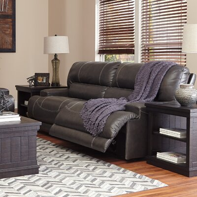 Red Barrel Studio RDBL3087 Casey Leather Reclining Sofa