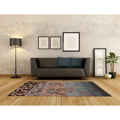 Bryant Hand-Tufted Mocha Area Rug Rug Size: Rectangle 36 x 56