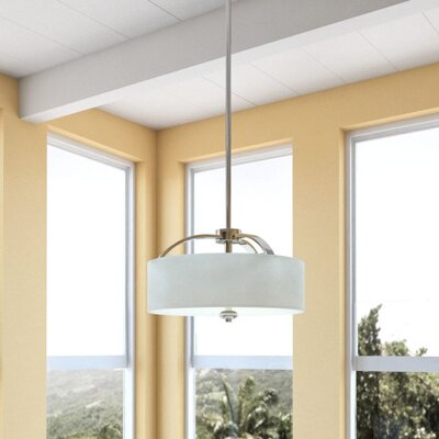 Epsom 3-Light Drum Pendant