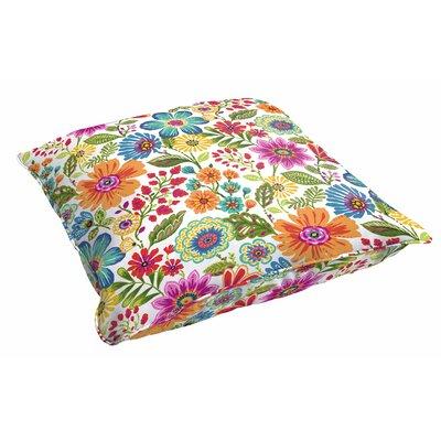Paxton Floral Indoor/Outdoor Floor Pillow