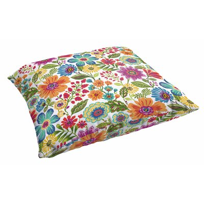 Paxton Floral Indoor/Outdoor Square Throw Pillow