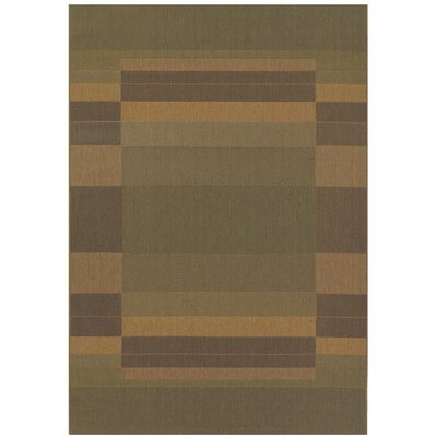 Sansom Green/Yellow Area Rug Rug Size: Runner 23 x 119