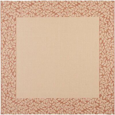 Barhill Natural/Terra Outdoor Rug Rug Size: Square 710