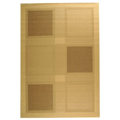 Barhill Large Boxes Outdoor Rug Rug Size: 9 x 12