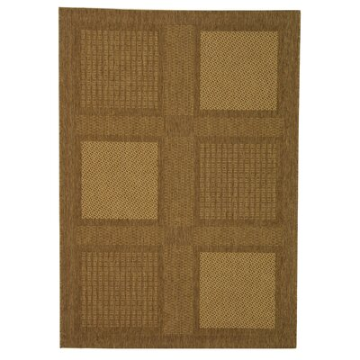 Barhill Large Boxes Outdoor Rug in , Rectangle 4 x 57