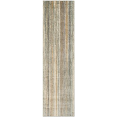 Roughtail Multi-Colored Area Rug Rug Size: Runner 22 x 8