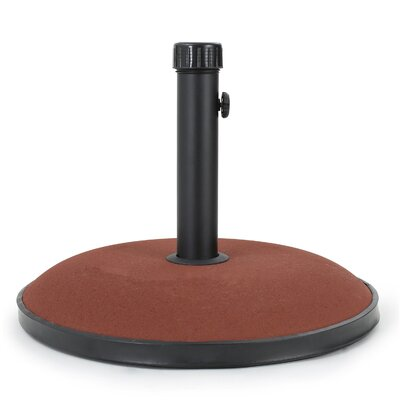 Burtt 66 lbs Concrete Free Standing Umbrella Base Color: Brownish Red