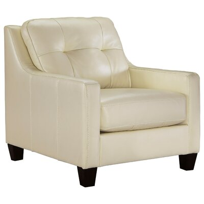 Stouffer Club Chair Upholstery: White