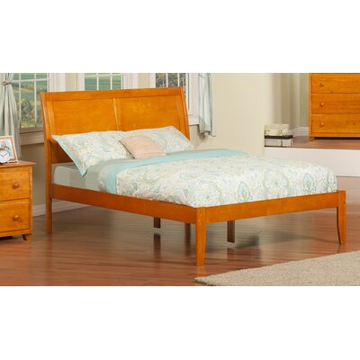 Ahoghill Platform Bed Color: Caramel Latte, Size: King