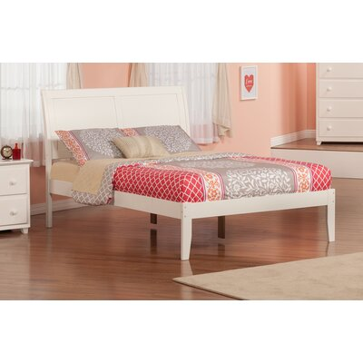 Ahoghill Bed Finish: White, Size: Full