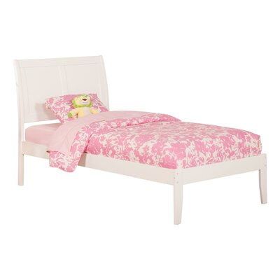 Ahoghill Bed Size: Twin, Finish: White